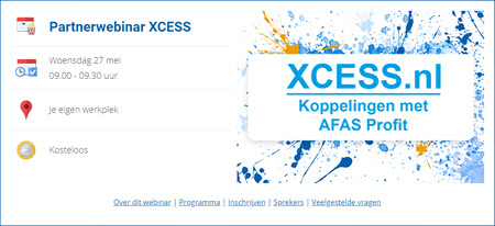 Partnerwebinar XCESS over PURE