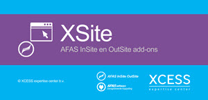 XSite - AFAS InSite en OutSite add-ons